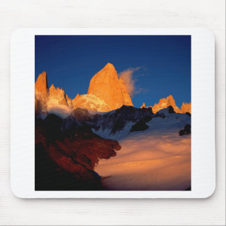 Sky Mount Fitzroy At Night Mousepad