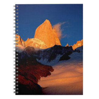 Sky Mount Fitzroy At Night Note Book