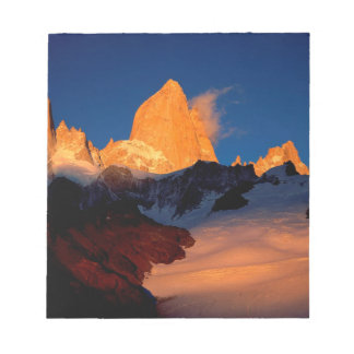 Sky Mount Fitzroy At Night Memo Note Pads