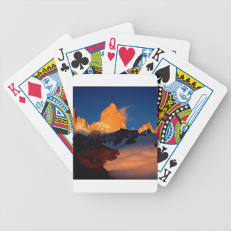 Sky Mount Fitzroy At Night Card Decks