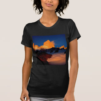 Sky Mount Fitzroy At Night Shirts