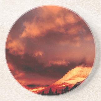 Sky Mount Wilber Glows Drink Coasters