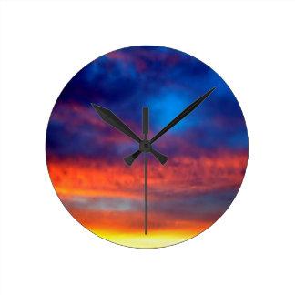 Sky Night Of Illuminations Clocks