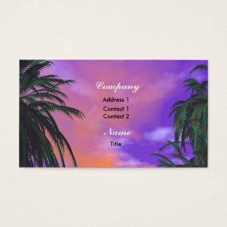 Sky Palms - Business Business Card