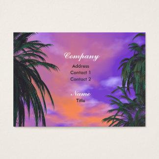 Sky Palms - Chubby Business Card