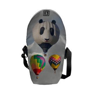 SKY PANDA MESSENGER BAGS