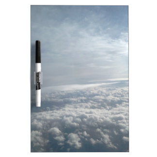 Sky, Plane View, Beautiful Clouds Dry Erase Whiteboard