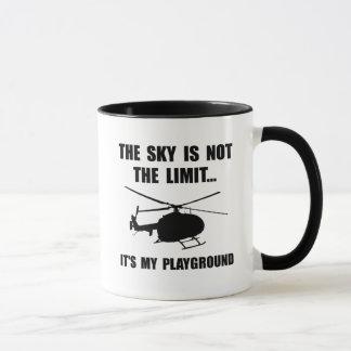 Sky Playground Helicopter Mug
