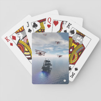 Sky Raiders Playing Cards