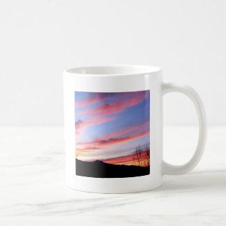 Sky Red At Night Coffee Mugs