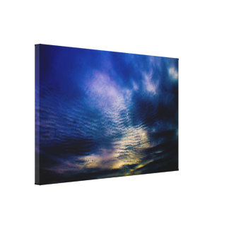 Sky Ripples Canvas Print