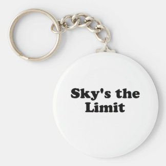 sky s the limit key chains