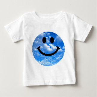 Sky Smiley Baby T-Shirt