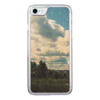 Sky Sparkles Carved iPhone 8/7 Case