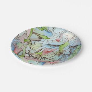 Sky Spirit Paper Plate
