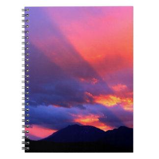 Sky Spiritual Awakening Bitterroot Montana Notebooks