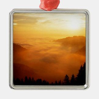 Sky St Gallen Switzerland Christmas Ornament