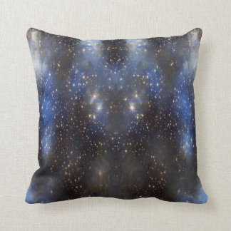 sky stars throw pillow