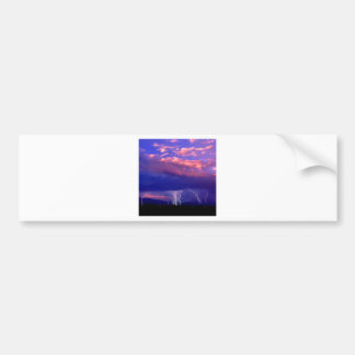 Sky Striking In The Distance Bumper Stickers