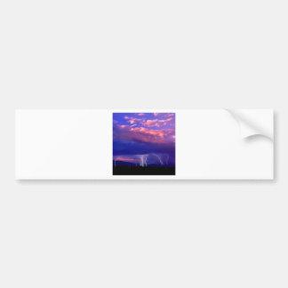 Sky Striking In The Distance Bumper Sticker