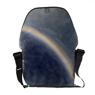Sky Study with Rainbow, 1827 (w/c on paper) Messenger Bag