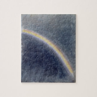 Sky Study with Rainbow, 1827 (w/c on paper) Puzzles