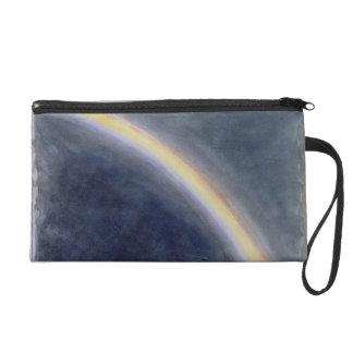 Sky Study with Rainbow, 1827 (w/c on paper) Wristlet Clutch