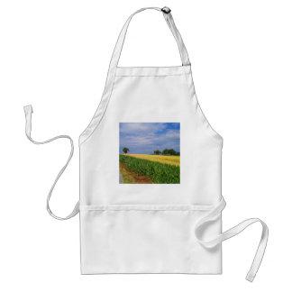 Sky Summer Fields Apron