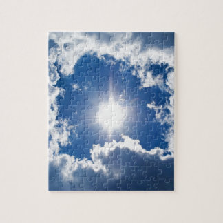 sky, sun and clouds jigsaw puzzle