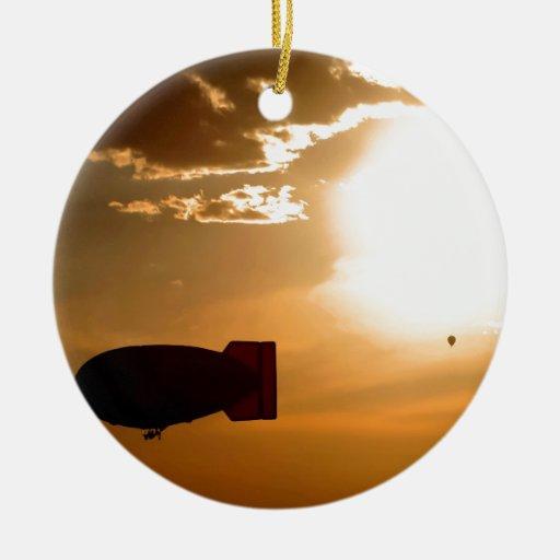 Sky Sunny Flight Christmas Ornament