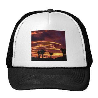 Sky Sunset Joshua Tree California Trucker Hat