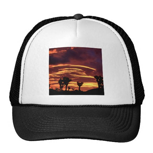 Sky Sunset Joshua Tree California Trucker Hat