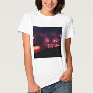 Sky Thunderstorm Mountains Tshirts