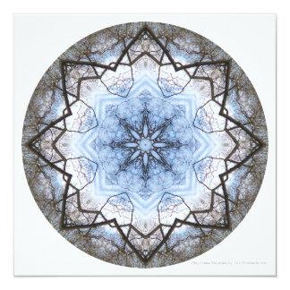 Sky-Trees Mandala Invite by Zen Moments
