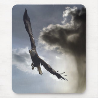 """""""Sky Warrior"""" Bald Eagle Gifts Mouse Pad"""