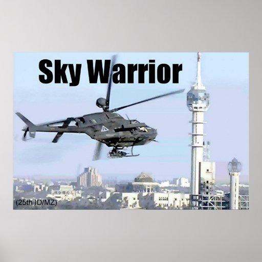 Sky Warrior Poster