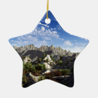 Sky Way Out West Wide Ceramic Star Decoration