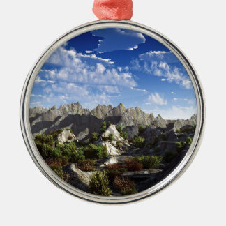Sky Way Out West Wide Ornament
