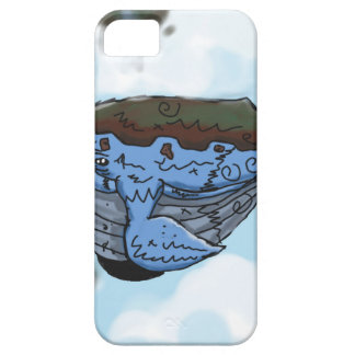 sky whale iPhone 5 cover