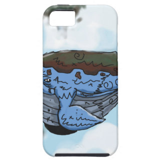 sky whale tough iPhone 5 case