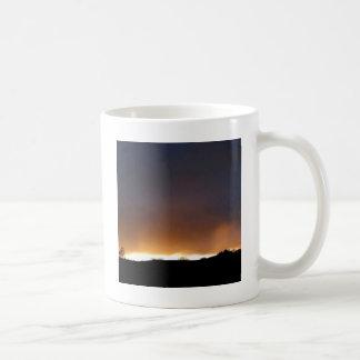 Sky White Night Mugs