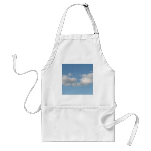 Sky with Clouds. Aprons