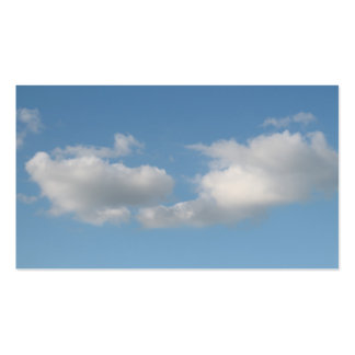 Sky with Clouds. Business Card