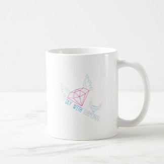 Sky With Diamonds Coffee Mug