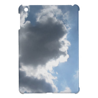Sky with giants cumulonimbus clouds iPad mini cover