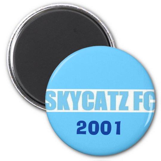 SKYCATZFC TEXT 2001 Magnet