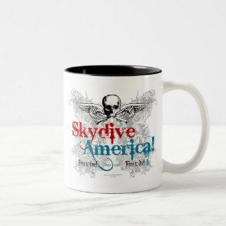 Skydive America! Coffee Mugs