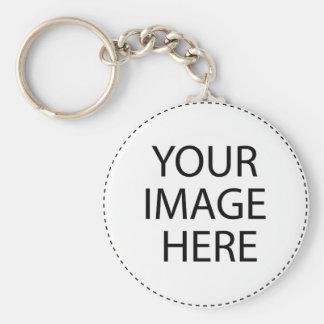 Skydive Basic Round Button Key Ring