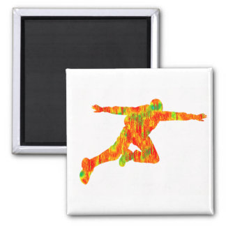 SKYDIVE BEYOND WORDS SQUARE MAGNET