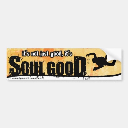 Skydive Bumper Sticker: Soul Good Bumper Sticker